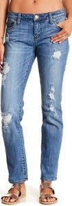 Distressed Katy Boyfriend Jeans